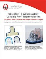 Термопластические маски Aquaplast RT и Fibreplast c переменной перфорацией